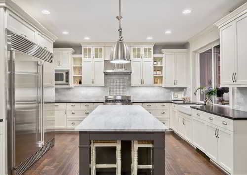 home staging London kitchen